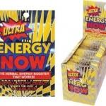 Ultra Energy Now ราคาส่ง 6 กล่อง 2250 บาท เฉลี่ยกล่องล่ะ 375 บาท ซองล่ะ 16 บาท