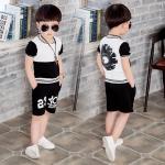 เสื้อ+กางเกง แพ็ค 5 ชุด ไซส์ 90-100-110-120-130 (เลือกไซส์ได้)
