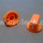 ลูกบิด Knob Full-tone สีส้ม