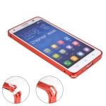 เคส Huawei Honor 3X G750 Bumper โลหะ ขอบเคส น้ำหนักเบา มีตัวล๊อคเฉพาะของตัวเคส ปิดล๊อคง่าย ด้านในมีแผ่นกันรอยแปะติดอยู่ สีเงาๆ สีทองแชมเปญหรูๆ สีเงินซิลเวอร์สวยๆ สีดำเท่ๆ สีฟ้างามๆ สีแดงเด่นๆ