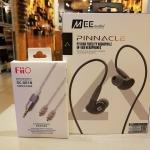 หูฟัง Mee Audio Pinnacle P2 และสายอัพชุบเงิน Fiio Se-Se1B Balance
