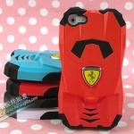 case iphone 5 เคสไอโฟน5 เคสซิลิโคนหุ้มพลาสติกอีกชั้นเป็นโมเดลรถแข่งเฟอร์รารี่ 3D Ferrari luxury cars silicone case + protective shell iPhone5