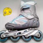 รองเท้าสเก็ต rollerblade รุ่น KPB สีฟ้า-เทา ไซส์ S (29-32)