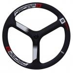 """ล้อหน้าหมอบ 3 ก้าน New Carbon """"DECAF """" Tri spoke wheelset !! 2018"""