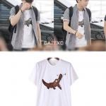 เสื้อยืดแฟชั่น CHEN EXO สีขาว
