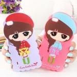 Case Huawei Honor 6 ซิลิโคน 3D สามมิติเด็กผู้หญิงน่ารักสดใสน่ารักมากๆ ราคาส่ง ราคาถูก ราคาปลีก