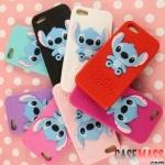 case iphone 5 เคสไอโฟน5 เคสซิลิโคนลายการ์ตูนสติทซ์ stitch cheshire 3D