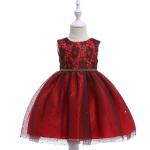 ชุดกระโปรง สีแดง แพ็ค 5 ชุด ไซส์ 110-120-130-140-150 (เลือกไซส์ได้)