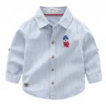 เสื้อ สีน้ำเงิน แพ็ค 5 ชุด ไซส์ 90-100-110-120-130