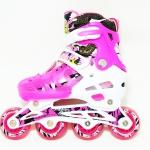 รองเท้าสเก็ต rollerblade รุ่น MMP-Kids สีชมพู พร้อมเซทสุดคุ้ม Size S (26-32)