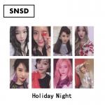 การ์ดเซต SNSD - Holiday Night
