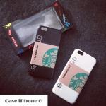 เคส iphone 6 (4.7) พลาสติกสกรีนลายถ้วยกาแฟสตาร์บัคสวยมากๆ ราคาส่ง ราคาถูก