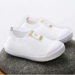 รองเท้าผ้าใบเด็ก สีขาว แพ็ค 6 คู่ ไซส์ 23-24-25-26-27-28