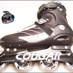 รองเท้าสเก็ต rollerblade รุ่น MSB สีดำ-เทา Fixed Size 43-45