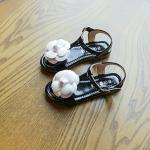 รองเท้าเด็กแฟชั่น สีดำแพ็ค 5 คู่ ไซส์ 31-32-33-34-35