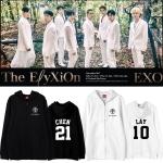เสื้อฮู้ดซิปหน้า (Hoodie) EXO Planet #4 - The Elyxion (ชื่อเมมเบอร์)