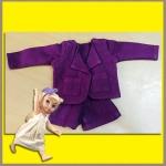 ชุดเซ็ตเสื้อสูท กางเกงขาสั้น ผ้าฝ้าย เนื้อนิ่ม Disney Animators' Collection Doll - 16'' (พร้อมส่ง)