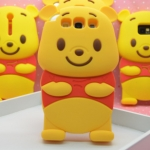 CASE Samsung Galaxy SIII (S3) หมีพูห์ Pooh Silicone 3D น่ารักๆเคสมือถือราคาถูกขายปลีกขายส่ง