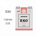 ปฏิทิน 2018 EXO (12*15 cm.)
