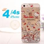 เคส iphone 4 เคสไอโฟน4s ลายคิตตี้ และ การ์ตูนดิสนีย์ หมีพูห์ phho มิกกี้เม้าส์ มินนี่เม้าส์ น่ารักๆ เคสเป็นพลาสติกใส