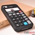 case iphone 4s 4 เครื่องคิดเลข ซิลิโคนเท่ๆ แนวๆ