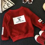 เสื้อ สีแดง แพ็ค 5 ชุด ไซส์ 90-100-110-120-130 (เลือกไซส์ได้)