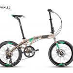 จักรยานพับได้ TRINX DOLPHIN2.0 7 สปีด ,ดุมแบร์ริ่ง 2018