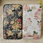 เคส Htc One X ลายดอกไม่แสนหวาน HTC ONE X phone shell mobile phone sets onex Retro Floral G23 Case Protective Case