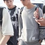 เสื้อแฟชั่นแขนยาว EXO LUHAN 2014 สีเทา