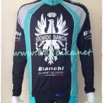 เสื้อจักรยานแขนยาว ลาย PRO-TEAM BIANCHI