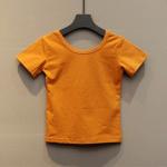 เสื้อ สีเหลือง แพ็ค 5 ชุด ไซส์ 7-9-11-13-15
