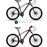 จักรยานเสือภูเขา TIGER TORNADO ล้อ 27.5 ,27 สปีด ดิสน้ำมัน 2018
