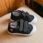 รองเท้าเด็กแฟชั่น สีดำ แพ็ค 6 คู่ ไซส์ 23-24-25-26-27-28