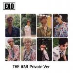 การ์ดเซต EXO THE WAR (Private ver.)
