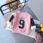 เสื้อกันหนาว (ด้านในมีขน) สีชมพู แพ็ค 5 ชุด ซส์ 7-9-11-13-15