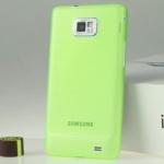 เคส S2 Case Samsung Galaxy S2 i9100 เคสพลาสติกแบบบางผิวด้านกันลื่นสวยๆ เคสมือถือราคาถูกขายปลีกขายส่ง