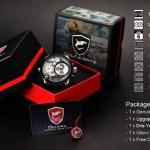 นาฬิกาข้อมือชาย Shark Sport Watch SH119+ZC155