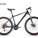 จักรยานเสือภูเขา TRINX ,K036 ล้อ26 เฟรมเหล็ก 21 สปีดชิมาโน่ 2018
