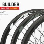 ชุดล้อเสือหมอบคาร์บอน VISP BUILDER ECO` SERIES 2018 NEW !!! สีดำ,เทา,และขาว