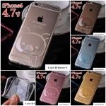 เคส iphone 6 4.7 นิ้ว ซิลิโคน TPU โปร่งใส 3 มิติ ลายการ์ตูนริลัคคุมะน้อยน่ารักมากๆ ราคาถูก -B-