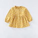 เสื้อ สีเหลือง แพ็ค 5 ชุด ไซส์ 80-90-100-110-120 (เลือกไซส์ได้)