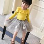 เสื้อ สีเหลือง แพ็ค 5 ชุด ไซส์ 80-90-100-110-120