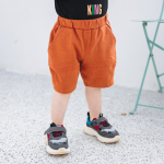กางเกง สีส้ม แพ็ค 5 ชุด ไซส์ 80-90-100-110-120