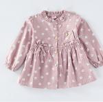 เสื้อ สีชมพู แพ็ค 5 ชุด ไซส์ 80-90-100-110-120 (เลือกไซส์ได้)