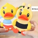 เคส iphone 4 เคสไอโฟน4s ซิลิโคน 3D เป็ดน้อยเล่นน้ำ ใส่ชุดผึ้ง ชุดกระต่ายน่ารักๆ