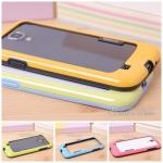 เคส S4 Case Samsung Galaxy S4 i9500 walnutt ขอบเคส bumper ซิลิโคนสีสวยๆ เคสมือถือราคาถูกขายปลีกขายส่ง