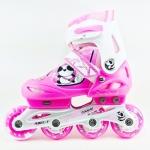 รองเท้าสเก็ต rollerblade รุ่น MCP สีชมพู-ขาว Size S **พร้อมเซทป้องกันสุดคุ้ม