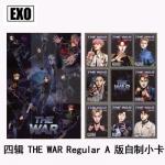 ชุดการ์ด #EXO THE WAR Regular (แฟนเมด)