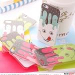 case iphone 5 iShow เคสลายไอติมเยิ้มๆ น่ารักๆ ผิวเป็นประกายมุก สวยๆ Korean ice cream pearlescent glitter