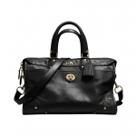 Preorder COACH RHYDER SATCHEL IN LEATHER Style No: 33689